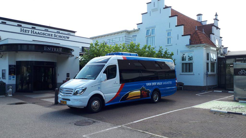 kleine bus touringcar midibus