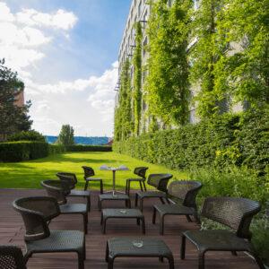 Holiday Inn Praag tuin