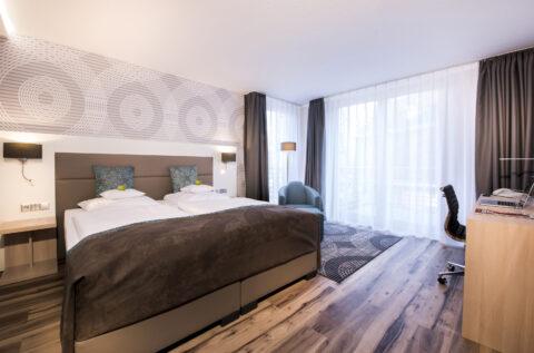Hotel Collegium Leoninum Bonn kamer